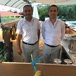 Abdi and Osman - your barman and waiter