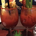 Bacon Bloody Mary's --- the BEST!