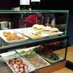 Taps, croquets, sandwiches, appetizers