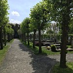 Church yard in Damme