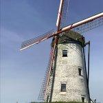 closer shot of windmill