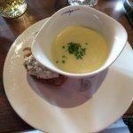 Soupe d'asperges (entrée)