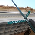 Old Santa Fe Trail & Palace Avenue(Palace of the Governors)