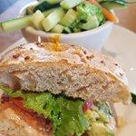 1/2 Salmon Sandwich
