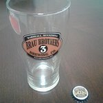 Promotional glass and bottle cap magnet