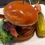 The Sidebar Burger with Bacon