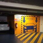 Cars take the lift too