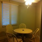 Our dining area inn our suite