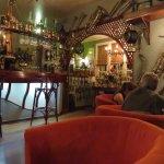 The quaint bar at La Varangue