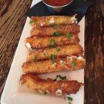Amazing mozzarella sticks