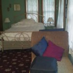 Miss Evelyn room...with private balacony.  Very comfortable.  Friendly Innkeepers