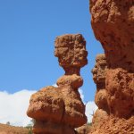 A hoodoo as fine as Thor's hammer..and no crowds