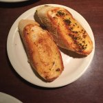 Garlic Bread served with the entrees