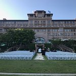 Wedding on the Lawn - Before the Ceremony