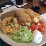 Chimichanga dinner