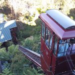 Take the funicular down to the restaurant.