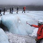 Glacier Hike on Solheimajokull