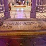 Sarcophagus of President Woodrow Wilson.