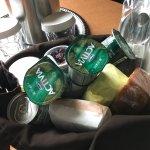 The breakfast picnic basket.