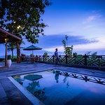 Private pool at Villa Kayangan