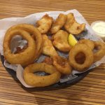 Currents-Treasure Island-Fish and chips basket-Onion rings