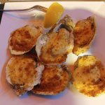 Baked Oysters at Crabby's!