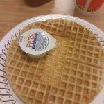 Waffle and potato