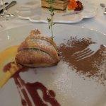 Fruit Tart & Cake in Backgound-Exquisite!
