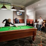 Our new nook is the perfect spot for a game of pool and a conversation with mates
