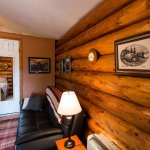 Sourdough Cabin with Full-Scribed Logs adds special warmth and charm