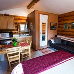 Sourdough Cabin has all you need for a relaxing and comfortable stay