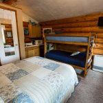 Sourdough Cabin with the kids' favorite - bunkbeds!
