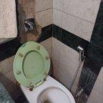 Damaged bathroom Room # 109