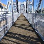 A parallel - only walk - bridge