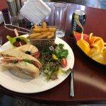 My Club Lounge lunch ... impressive!