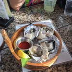 Oysters on the half shel