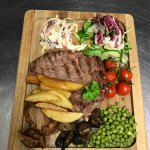 Our famous steak night held every month with succulent steaks including a 32oz T Bone