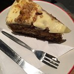 the yummy carrot cake!