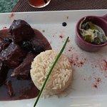 Daube de taureau et riz camarguais