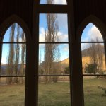 Looking out through the windows of Waitiri