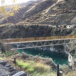 View from Wild Earth over the Kawarau River