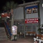 Entrance to Kemah Bubba Gump's