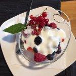 Frutti di bosco con yogurt
