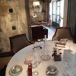 La table de notre déjeuner