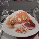Assiette gourmande de la mer