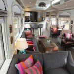 Piano Bar Lounge aboard The Andean Explorer