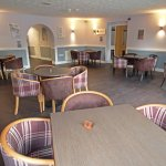 The Milford Room - pet friendly indoor seating area
