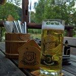 Biergarten im vorderen Bereich