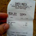 Sablazo, 4€ por vermut de dos dedos.