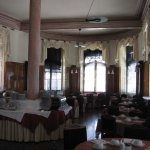The elaborate and original breakfast room